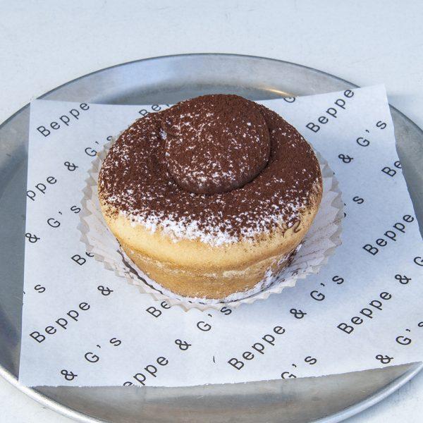 Baked Ricotta Cake with Nutella